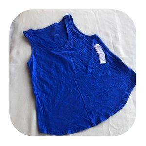 6/$15 NWT A New Day XS blue tank